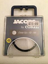 COKIN Close Up Camera Lens Filter 49mm +1 +1D Magnification 101 Jacobs Digital