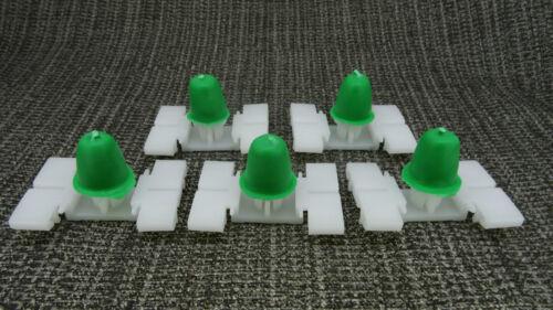 MERCEDES-BENZ LONG STEM MOLDING TRIM CLIPS FITTING BUMPER /& DOOR BUMP STRIP