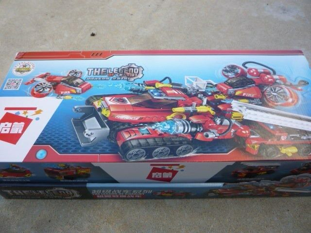Legend of Chariot Fire Fighting Vehicles and Mega Fire Engine LEGO Set