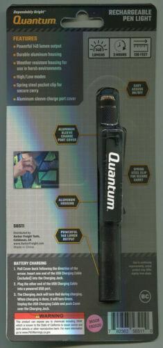 Quantum 140 LM Poche Rechargeable Stylo Lumière
