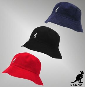 1d6d396f1bb Image is loading Mens-Branded-Kangol-Stitched-Terry-Cloth-Boucle-Bucket-