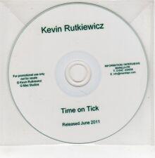 (GO906) Kevin Rutkiewicz, Time On Tick - 2011 DJ CD