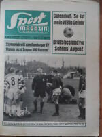 SPORT MAGAZIN 6 A - 7.2. 1966 Neunkirchen-Bayern 0:4 Gladbach-Schalke 2:0 HSV