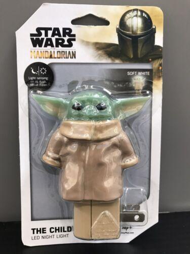 Star Wars The Mandalorian The Child Baby Yoda LED Night Light Disney Jasco