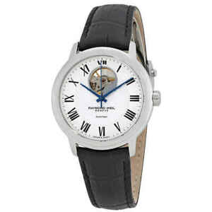 Raymond-Weil-Maestro-Automatic-Silver-Dial-Men-039-s-Watch-2227-STC-00659