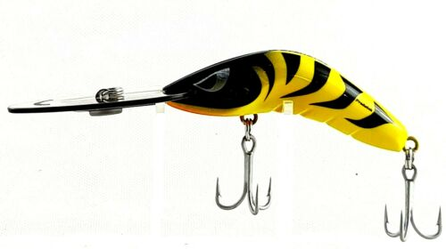 FISHING LURE PREDATEK BOOMERANG 20g CAST OR TROLL DEEP DIVER 80 -UD Y //TIGER