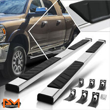 For 09 20 Dodge Ram 1500 3500 Crew Cab 5 Step Pad Nerf Bar Running Board Silver Fits Dodge Ram 1500