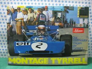 Schuco 225 196 - Tyrrell Montage Formel 1 Nuova / Mint