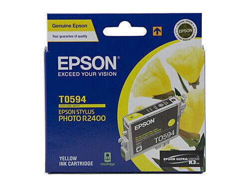Epson T0594 UltraChrome K3 Yellow Ink Cartridge C13T059490 STYLUS PHOTO R2400 Ne