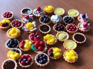 Handmade Miniature Mix Fruit Tart, Cupcake, Fruit cake, Pies (20 pcs)
