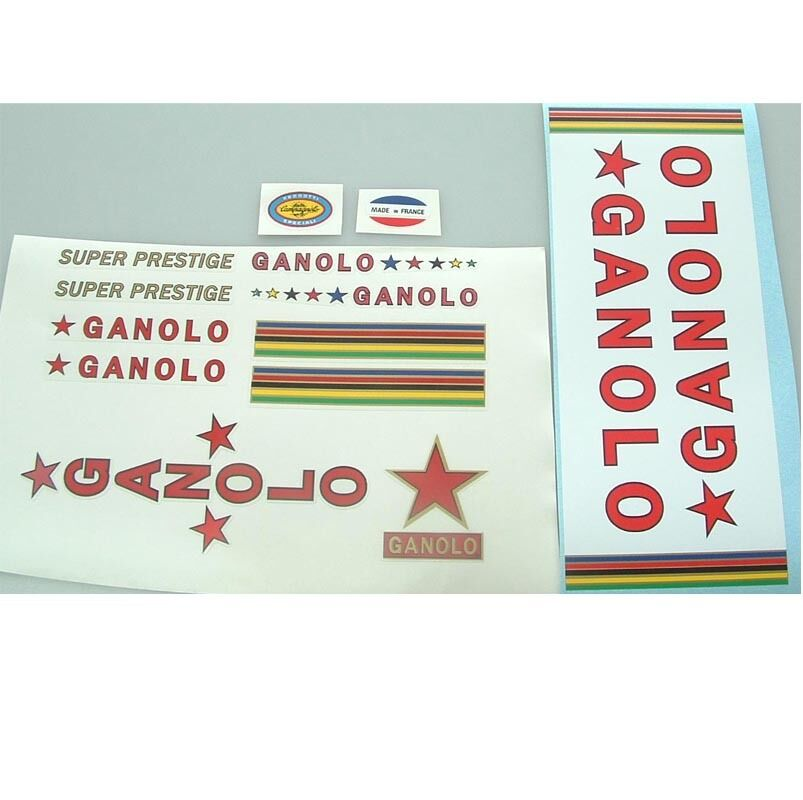 Ganolo complete  set of decals vintage French  there are more brands of high-quality goods