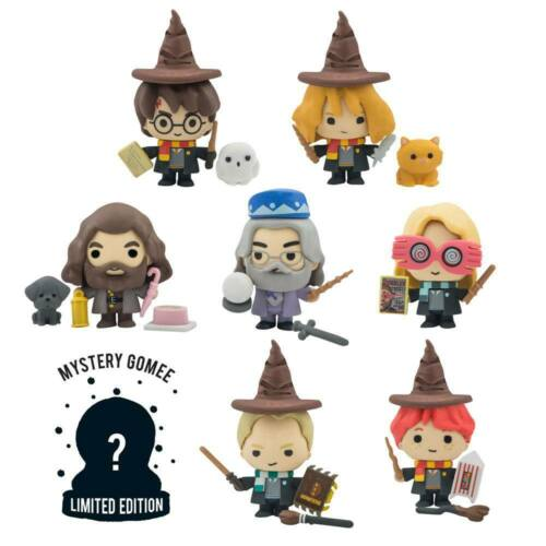 MINI FIGURES HARRY POTTER SET COMPLETO 8 PERSONAGGI CINEREPLICAS