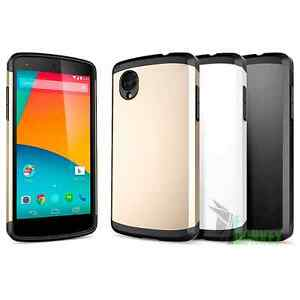 Custodia-Case-Cover-Slim-Armor-Per-LG-Nexus-5-Slim-Pellicola
