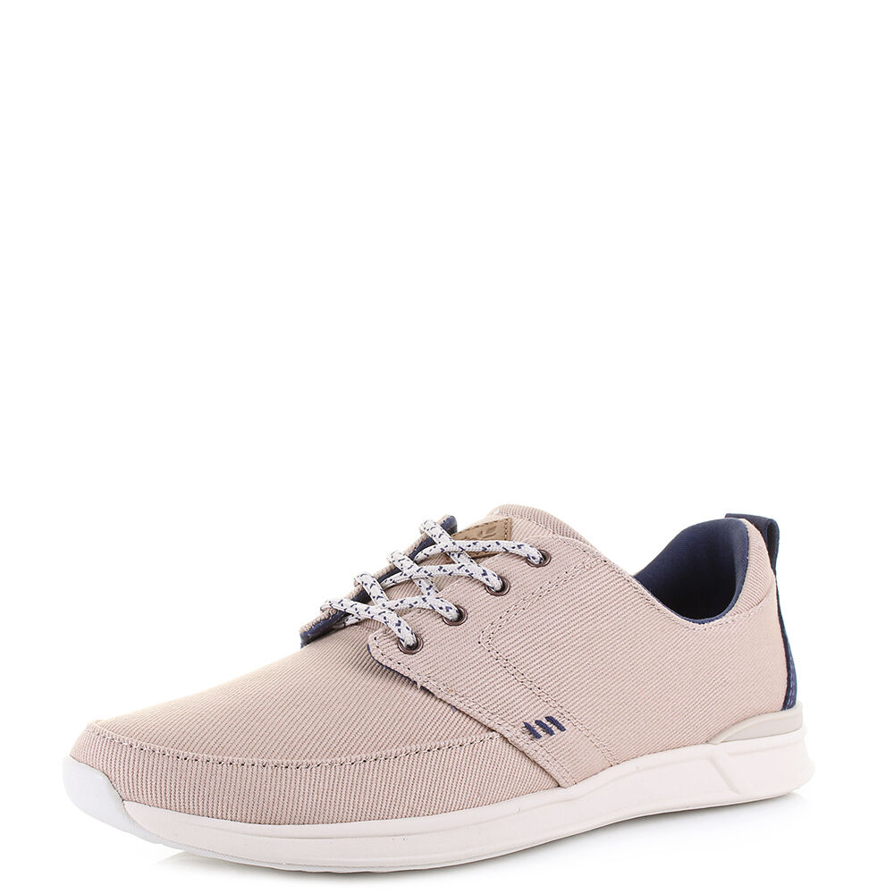 femmes Reef Rover Low Cream Navy Comfort Lightweight Trainers Taille