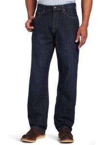 9887a227 Lee Men's Big-Tall Premium Select Custom Fit Loose Straight Leg Jean ...