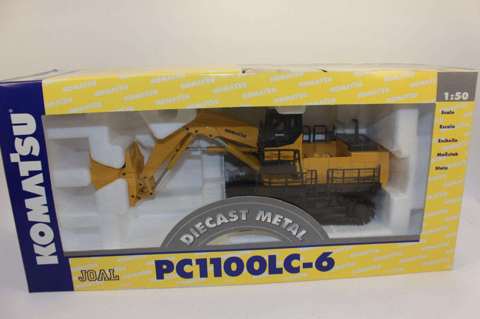 JOAL 290 PC 1100 KOMATSU hochlöffel Excavateurs 1 50 NOUVEAU dans neuf dans sa boîte