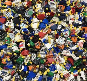 Lego-50-figurine-torses-Mains-Town-figures-city-castle-star-wars-plus