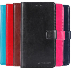 Flip-Book-Stand-Wallet-Leather-Cover-Etui-Skin-Case-Etui-For-BLU-Mobile-phone