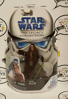 Star Wars The Legacy Collection Stass Allie Figure