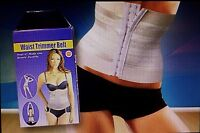 Waist Tummy Trimmer Belt Weight Loss Wrap Body Shaper Contouring Size Large