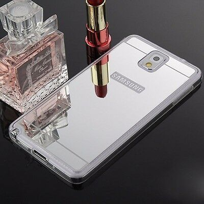 Luxury Mirror Soft TPU Case Cover For Samsung Galaxy S4 S5 S6 Edge Note 2 3 4
