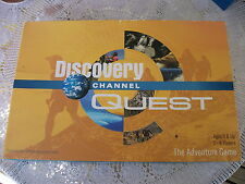 Discovery Channel Quest The Adventure Game 2003 Brainy Boardgame World Travel