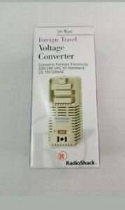 New-in-Box-Radio-Shack-50-Watt-Foreign-Travel-Voltage-Converter-Adapter-273-1412