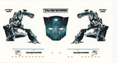 "Decal /""Transformers//Optimus Prime/"" para scania r09 Topline szm 1//87"