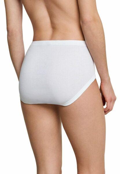4 Schiesser Damen Slips Taillenslips Feinripp Unterhose Schlüpfer bequem Basic