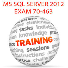 MS SQL SERVER 2012 EXAM 70-463 - Video Training Tutorial DVD