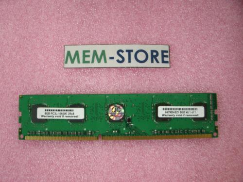 647909-B21 8GB DDR3-1333 UDIMM ECC Memory HP ProLiant BL460c DL160 DL360p G8