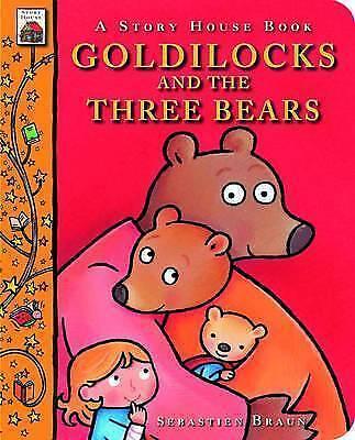 1 of 1 - Goldilocks and the Three Bears (Story House Board Books)-ExLibrary