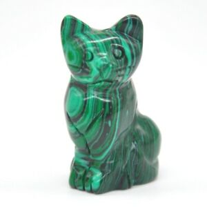 1-5-034-Cat-Figurine-Malachite-Turquoise-Quartz-Crystal-Healing-Stone-Carving-Decor