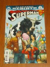SUPERMAN #7 DC UNIVERSE REBIRTH VARIANT