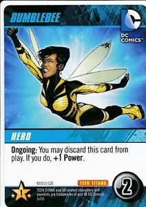 BUMBLEBEE DC Comics Deck Building Game TEEN TITANS card