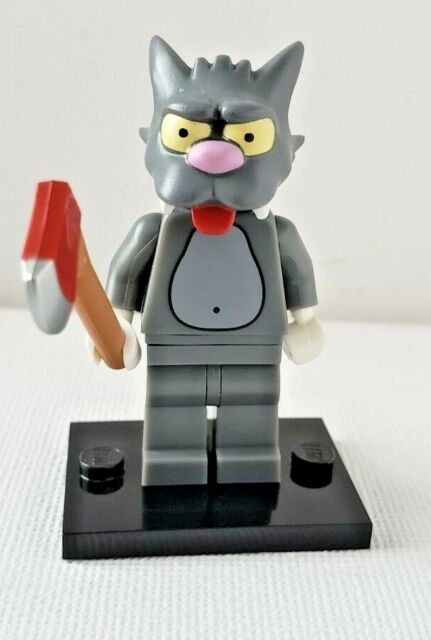LEGO 71005 THE SIMPSONS Minifigures SCRATCHY #14 Minifigs Series 1 Cat NEW OOP