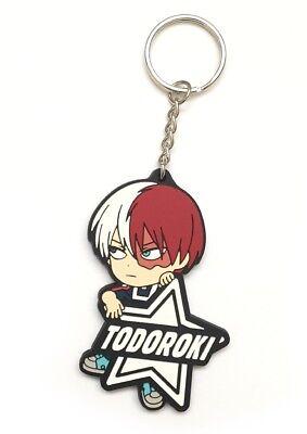 My Hero Academia PVC Strap Keychain Charm Vol.3~ Shouto Todoroki with Name MHA03