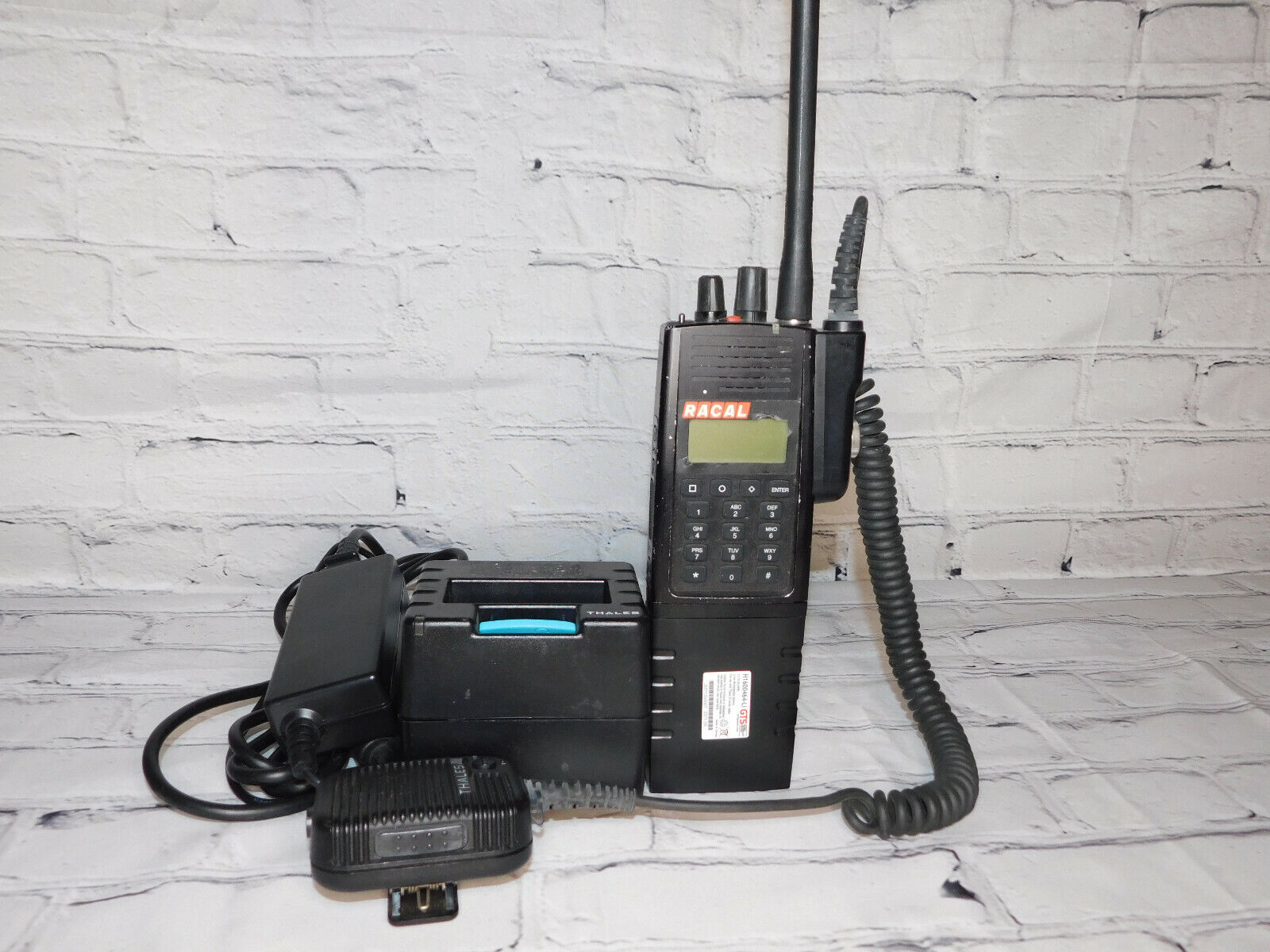 Thales T-25 Racal P25 PRC-6894 FPP Analog/Digital Radio With AES/DES New Battery. Available Now for 225.00