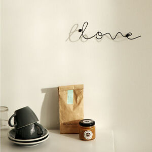 Image Is Loading Wire Letters Wall Decoration Words Handcrafted Style Letter