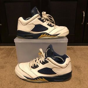 e9bf1534016c Air Jordan 5 Low Dunk From Above 819171-135 Size 9.5 USED