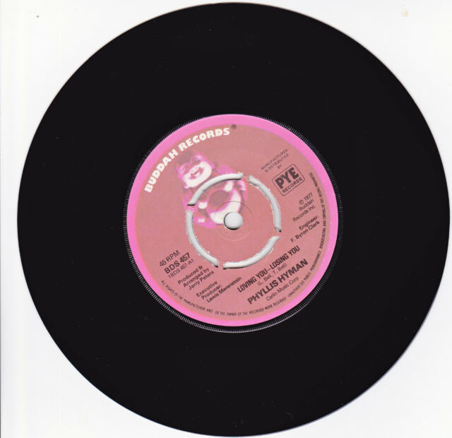 PHYLLIS HYMAN LOVING YOU LOSING YOU +LONG VERSION. (SOUL IN THE SUN 45) BDS 457