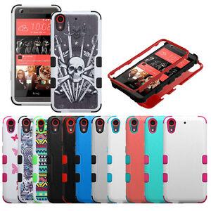 Para-HTC-Desire-626-626s-530-anti-choque-hibrido-caso-cubierta-de-cuerpo-completo