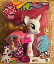 """My Little Pony Fashion Style Rarity New Friendship Is Magic 6"""" Doll Wings Spread"""