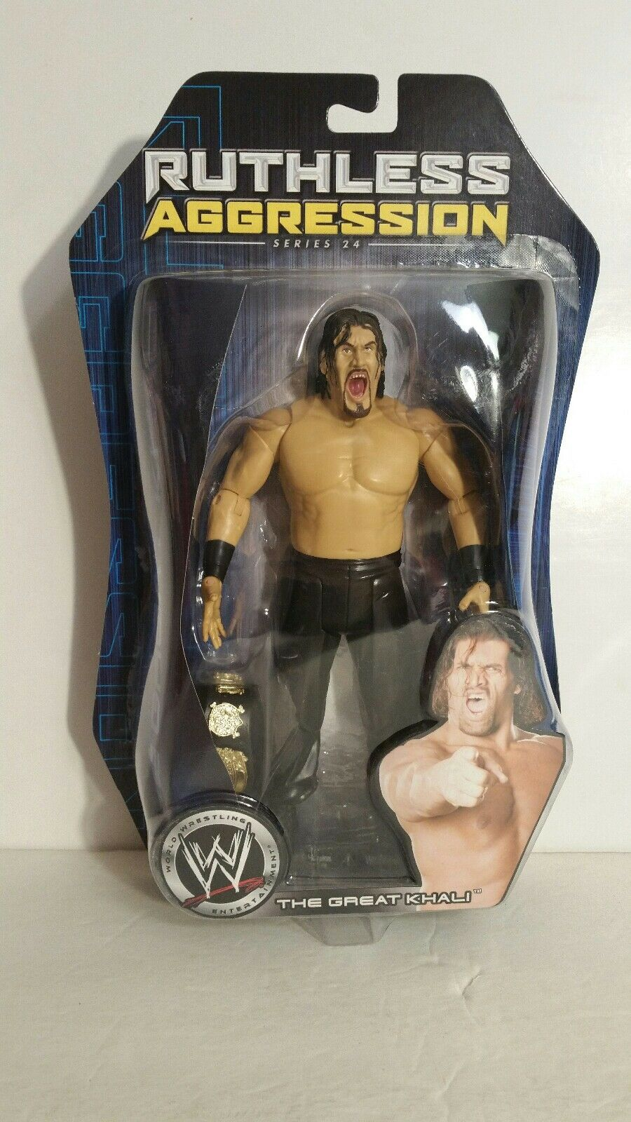 WWE Ruthless Agression The  Great Khali action figure (073)  bienvenue à l'ordre