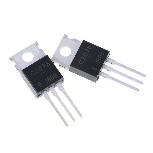 5Pcs RF//VHF//UHF transistor TO-220 2SC2078 C2078 BWHWC