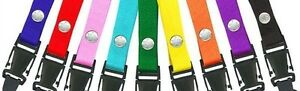 CLOSEOUT-FIVE-3-4-034-Extra-Wide-NECK-LANYARD-for-KEYS-IDs-Limited-COLORS