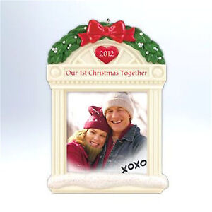 Hallmark 2012 Our First Christmas Together Photo Holder ...