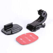 J Hook Haken Buckle Mount Flat Stand 3M Adhesive for GoPro Hero 4 Session 3+ 3 2