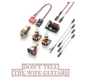 image is loading emg-solderless-active-conversion-wiring-kit-j-set-