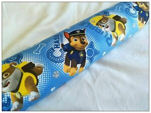 Light-blocker-FILLED-and-Washable-Draft-excluder-kids-theme-Paw-patrol